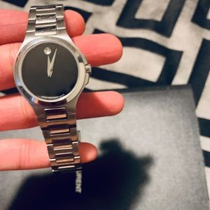 Authentic Sapphire Crystal Movado Watch